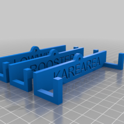 Download free 3D printing files Drone Wall hanger brackets, SimJen