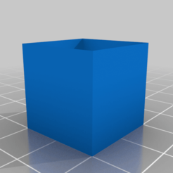 empty_cube.png Download free STL file Empty cube 20x20x20 • 3D print model, Radler