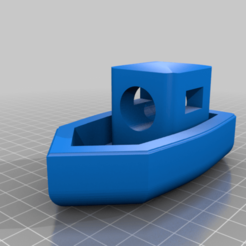 Descargar modelo 3D gratis Custom Benchy, Radler