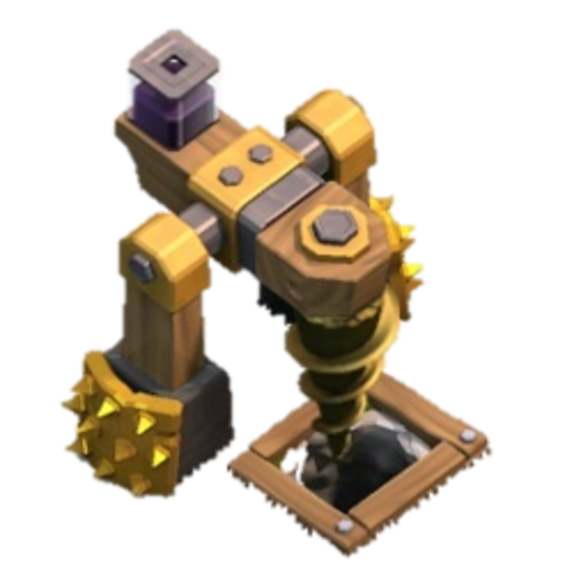 Download free 3D printing files black drill clash of clan, LEGENDS
