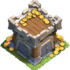 Chateau_de_clan_niv3.png Download free STL file clan castle clash of clan • 3D printable design, LEGENDS