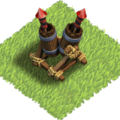 Download free STL file clash of clan anti-aircraft defence • Design to 3D print, LEGENDS