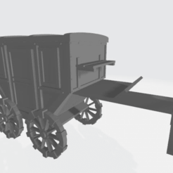 Download free 3D print files 28mm Carriage V2, Cikkirock