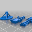 Télécharger fichier STL gratuit Armes Steampunk : Pistolet Valtz • Objet à imprimer en 3D, Cikkirock