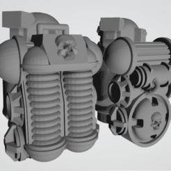 Alternative_Weapons_Example_3.png Download free STL file Hostile Environment Guardsmen - Alternative Weapon Backpacks • 3D print model, Cikkirock