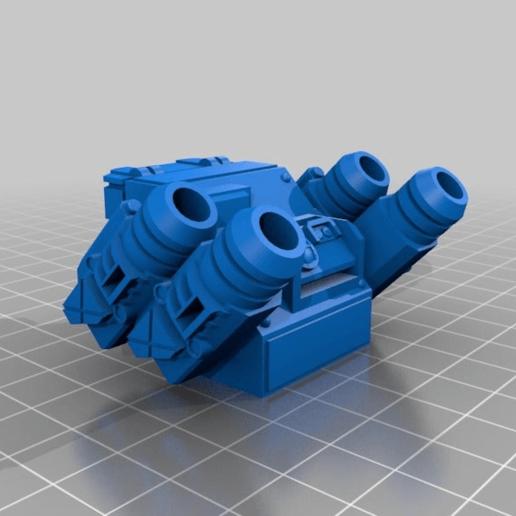 43a80cecc92191d2bc0d96b5c0e54c69.png Download free STL file Interstellar Army - Quad Mortar and Quad Cannon • 3D printing model, Cikkirock