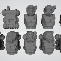 Example.png Download free STL file Hostile Environment Guardsmen • Object to 3D print, Cikkirock