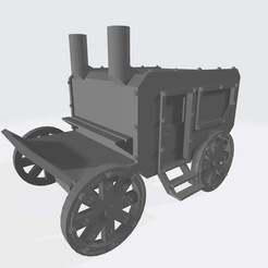 Download free STL file 28mm Carriage V1 - Finished • 3D print model, Cikkirock