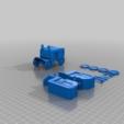 Download free 3D model 28mm Carriage V1 - Finished, Cikkirock