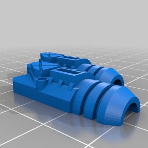 2736588ce92e7f255260f8787408aebd.png Download free STL file Interstellar Army - Quad Mortar and Quad Cannon • 3D printing model, Cikkirock
