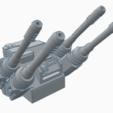 Hydra.png Download free STL file Interstellar Army - Quad Mortar and Quad Cannon • 3D printing model, Cikkirock
