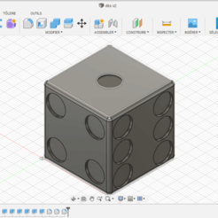 dès 1.png Download free STL file One from • 3D printable object, raphaelcourtois12