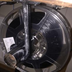 filament_hanger.png Télécharger fichier STL gratuit Porte-bobine suspendu pour table • Plan à imprimer en 3D, P3Designs
