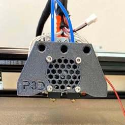 Télécharger fichier STL gratuit Double BP6 Hotend pour Blv mgn cube (Convient au chariot en aluminium, pas au kit métallique officiel) • Design pour impression 3D, P3Designs