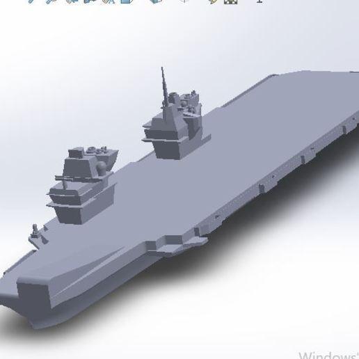 Download 3D model elizabeth aircraft carrier, seyit_783