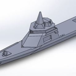 ladroid.JPG Télécharger fichier STL corvette l'adroit • Modèle imprimable en 3D, ss_desing