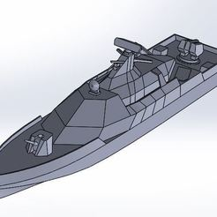radar.JPG Download STL file stealth ship special • Template to 3D print, ss_desing