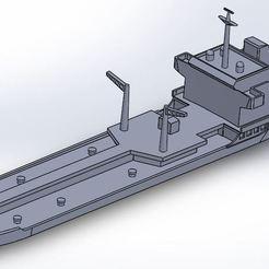 akar.JPG Download STL file tcg akar tanker ship • 3D print template, ss_desing