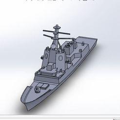alvaro de bazan.JPG Download STL file Alvaro de Bazan batteship • 3D printer design, ss_desing