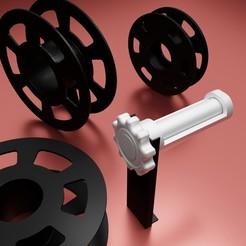 Télécharger objet 3D gratuit Support bobine d'impression sur portique CR10S pro, Xdorf