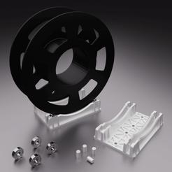 Descargar archivo 3D gratis Soporte Carrete de impresión 1Kg, Xdorf