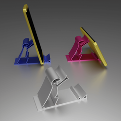 Support La Linea.png Download free OBJ file La linea smartphone support • 3D printer object, Xdorf