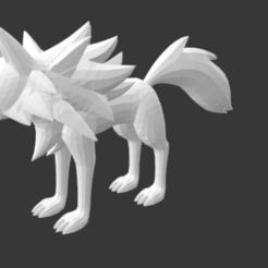 Descargar Modelos 3D para imprimir gratis #745 Lycanroc Forma Crepuscolo (Pokemon), Ci_Francy