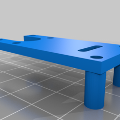 Download free STL file BLTouch mount for TwoTrees Bluer • 3D print template, Tezuka_3D