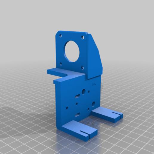 Modificado_MGN12H_Adapter_v1.5.png Télécharger fichier STL gratuit Ender 3 Extrusion directe avec BMG et guide linéaire • Objet imprimable en 3D, nitoguz