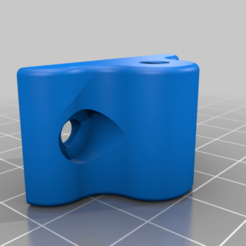 teflon_guide_two_connectors.png Download free STL file Teflon guide 2 connectors • Template to 3D print, nitoguz
