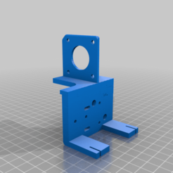 Modificado_MGN12H_Adapter.png Download free STL file Ender 3 Direct Extrusion with BMG and Linear Guide • 3D printable model, nitoguz