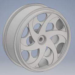 Télécharger objet 3D gratuit 8ème échelle de la roue Slash 4x4 fit, DaftWheels