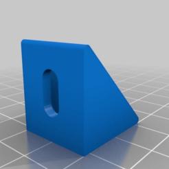 Download free 3D printer designs 20x20 Angle, bbleimhofer