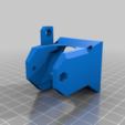 Download free STL file E3D V6 (Clone) 40mm fan mount • 3D printer object, bbleimhofer
