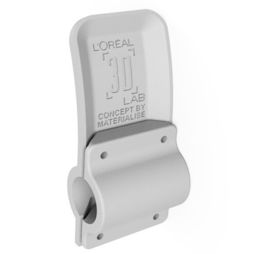 Download free 3D model COVID parametric door handle - cylindrical, Loreal3DLab