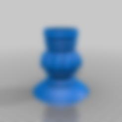 Télécharger fichier STL gratuit Porte-bougie à réchaud, samlyn696