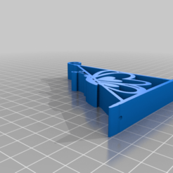 Download free 3D printer files Wonderful Butterfly Wall Bracket Ver2, samlyn696