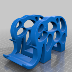 Download free 3D printing files Elephant Napkin Holder Fixed and in Parts, samlyn696