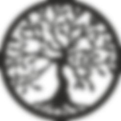 tinker.obj Download free OBJ file Beautiful Tree of Life Book Support bookend holder • 3D printer design, samlyn696