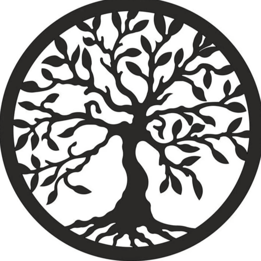 Download free 3D printing templates Beautiful Tree of Life Book Support bookend holder, samlyn696