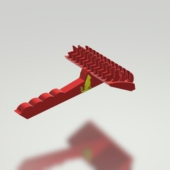 Télécharger fichier imprimante 3D gratuit Brosse à poils pour animaux de compagnie Brosse à poils pour chats et chiens, samlyn696