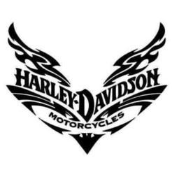 Descargar diseños 3D gratis LOGO DE HARLEY DAVIDSON, samlyn696