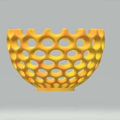 large_c_h.jpg Download free STL file Teallight Candle Holder • Object to 3D print, samlyn696