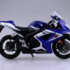 71ymOTHMgzL._AC_SL1500_.jpg Download OBJ file Suzuki GSX-R750 motorcycle • Design to 3D print, samlyn696