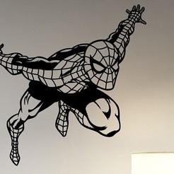 sm.jpg Télécharger fichier STL Sticker mural Spiderman sur l'art décoratif • Design pour imprimante 3D, samlyn696