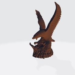 Descargar Modelos 3D para imprimir gratis El águila con la estatua de la cobra, samlyn696