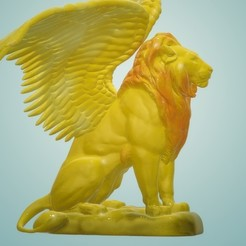 Download 3D print files Lion with wings, samlyn696