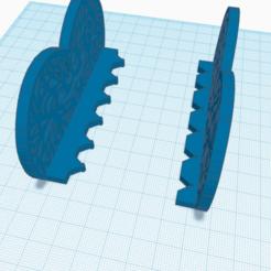 Download free 3D printer model Beautiful Heart Shaped Napkin Holder Table Tissue Holder, samlyn696