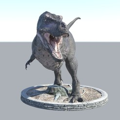 Download STL file Realistic Dinosaurs T-Rex Tyrannosaurus Female • 3D printable design, samlyn696