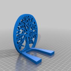 Imprimir en 3D gratis Soporte de libro Beautiful Tree Of Life Soporte de libro, samlyn696
